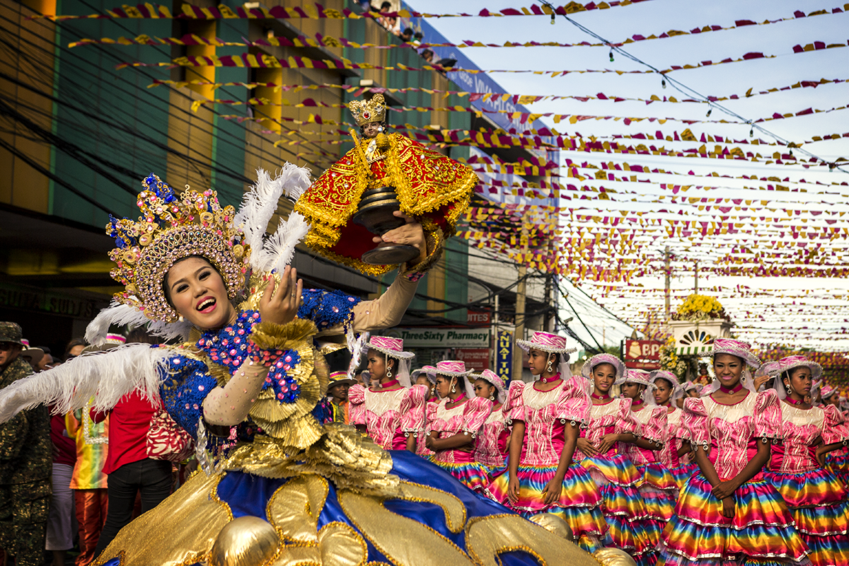 Sinulog Parade Queen and Saint Nino - Coral and Oak Studios